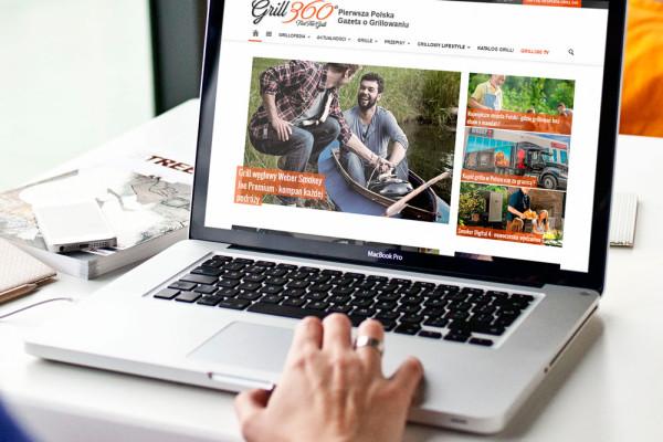 Internetowa gazeta o grillowaniu Grill360.pl