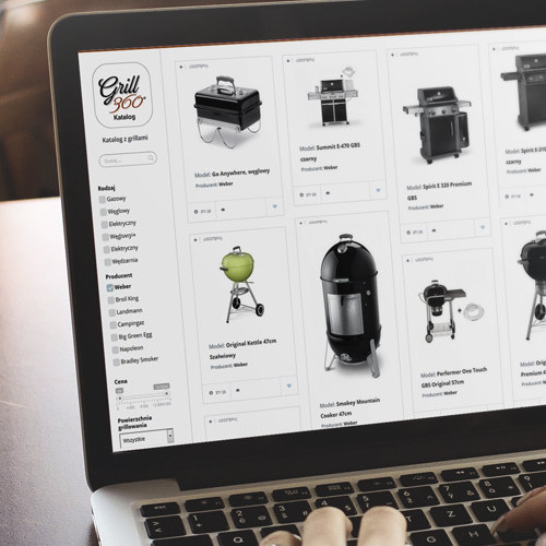 iShowroom. Zintegrowany blog produktowy Grill360
